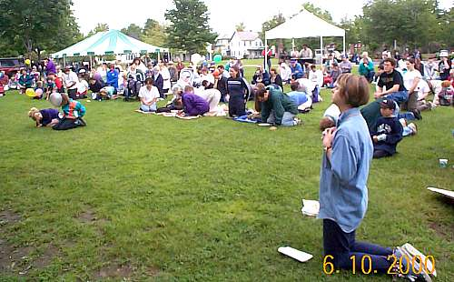 Gather to Worship in Battery Park