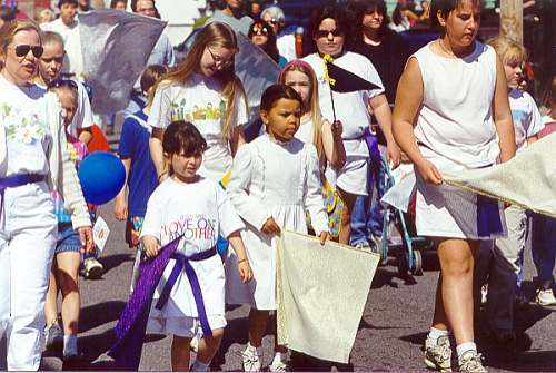 Children Marching For Jesus